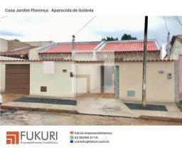 Casa 2Q c/ suíte - Jardim Florença - Aparecida de Goiânia