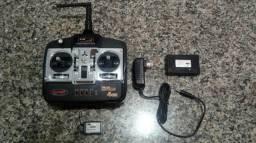 Radio Controle 2.4 Aeromodelo Automodelo Dynam