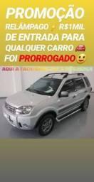 Mega FACILIDADE! R$1MIL DE ENTRADA(ECOSPORT 1.6 FREESTYLE 2012)SHOWROOM AUTOMÓVEIS
