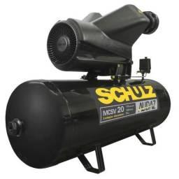 Compressor de Ar Audaz 5HP 20 Pés 200L 175lbf Trifásico 220/380V - Schulz-MCSV20/200