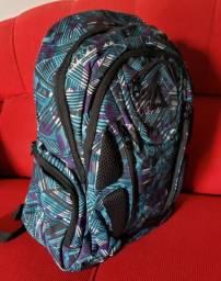 Mochila Escolar Original ( Azul / Roxo)