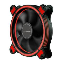 Cooler 120mm Led Ring Pc Gamer Fan Gabinete Mymax Spectrum!!