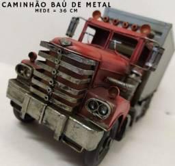 Caminhão Baú Contêiner Estilo Vintage<br><br><br>