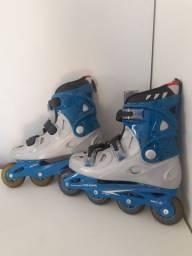 Roller importado azul  luxo tamanho 38/39
