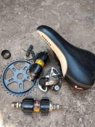 Vendo peças de bicicleta