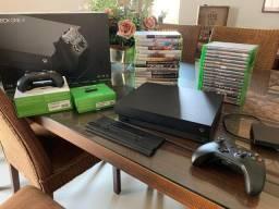 Xbox One X Completo + Coleção