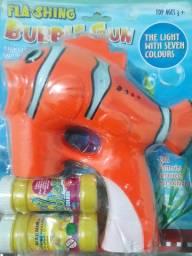 Peixe de fazer bolhas de sabão
