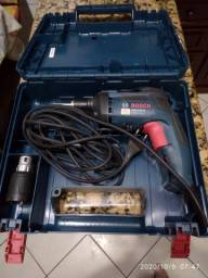 Parafusadeira elétrica com redutor de profundidade