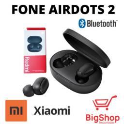 Fone Xiaomi Wireless Redmi Airdots 2 Lançamento 2020