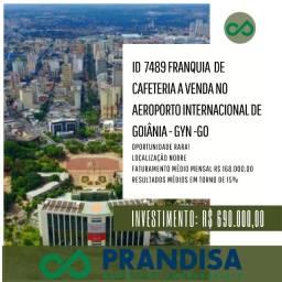 7489 Repasse de franquia de cafeteira no Aeroporto Sta Genoveva em Goiânia - Go