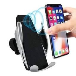 Carregador Veicular Qi Smart Sensor Wireless Charger S5