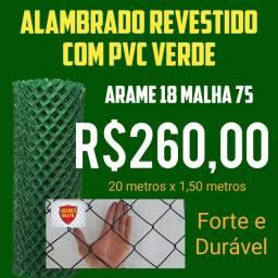 ALAMBRADO REVESTIDO COM PVC
