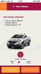 Título do anúncio: Fiat/nova strada cabine simples freedon 1.3/2021 completa a faturar