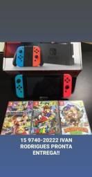 Nintendo Switch a pronta entrega aproveite