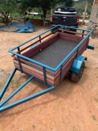 Carreta reboque para transporte valor R$ 3700,00 feito uma viajem MG ao RS