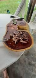 Tábuas de carne rústica