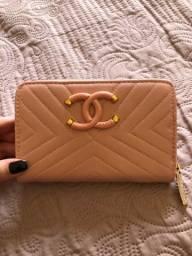 Carteira Chanel rosa
