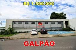 Galpão no Novo Aleixo, 725m², Espaço Administrativo, Esquina, Oportunidade
