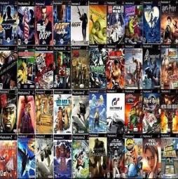Jogos variados PS2
