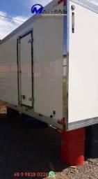 bau termico camara fria carroceria refrigerada novos com garantia e instalados