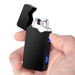 Isqueiro Elétrico Plasma USB Recarregável