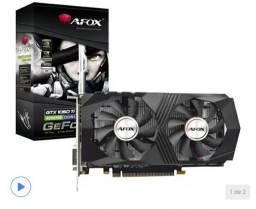 Placa de Vídeo Afox GeForce GTX1050 Ti 4GB GDDR5<br><br>