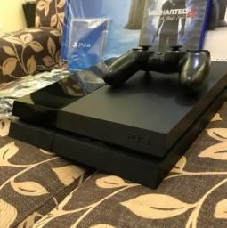 PlayStation 4 completo, 6 jogos e garantia