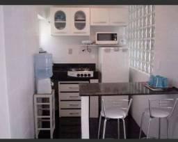 kit centro guarapari 700 já com condomínio, perto areia preta mobiliado