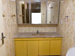 Gabinete De Banheiro Completo - Com Pedra E Cuba E Armário