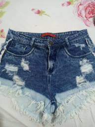 Short jeans usado poucas vezes