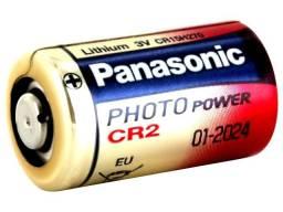 Bateria Pilha Cr2 Panasonic - 3v Lithium - Nova, Original, Lacrada!