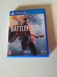 Battlefield 1 PS4 Jogo de Vídeo Game Usado Ótimo Estado