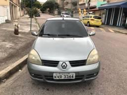 Clio sedan 1.6 Privilege Completo Único Dono flex