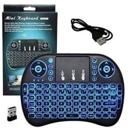Mini Keyboard Backlit - Mini Teclado com touchpad !!!!!