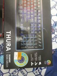Mouse, teclado e headset