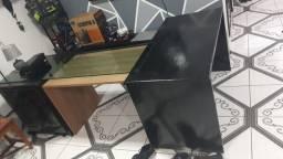 Kit 2 Mesas + Balcão Duplo.