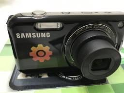 Câmera Digital Samsung PL 120 Preta - Seminova - Aceito Cartão + taxa