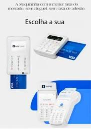 Máquina de cartão pronta entrega a partir de 99, reais