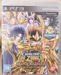 Jogo Cavaleiros Do Zodíaco PS3
