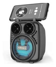 Caixinha de som Bluethhot, pendrive, cartão de memória e Rádio