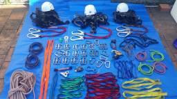 Equipamento de acesso por corda (rapel) R$ 4.000,00 TUDO!  Baixei para vender.