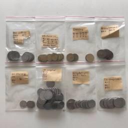 Moedas e cédulas antigas
