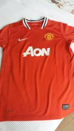 Camiseta Nike do Manchester United infantil