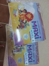 Livro somos máxi 3 e 4 novos 1 e 2 usados