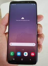 Galaxy s8 64GB preto/cinza