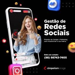 Gerenciamento de Redes Sociais para marcas e Design