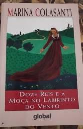 Livro - Doze Reis e a Moça no Labirinto do Vento