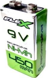 Bateria Pilha Recarregável 9v Quadrada 450mah - FLEX - Nova, Original!