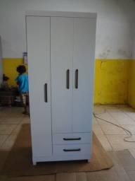 G-roupa branco 03 portas novo