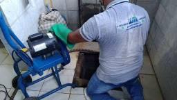 Desentupidora e limpa fossa wa serviços